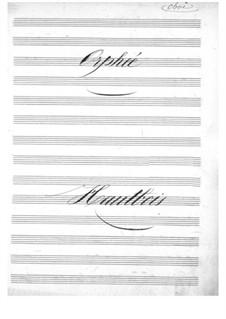 Vollständiger Oper: Oboenstimme by Jacques Offenbach