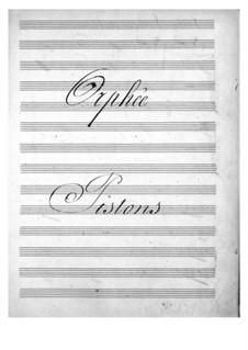 Vollständiger Oper: Kornettstimmen by Jacques Offenbach