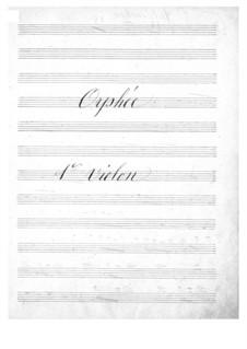 Vollständiger Oper: Violinstimmen I by Jacques Offenbach