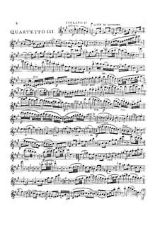 Drei Streichquartette Nr.4-6, Op.8: Quartett in A-Dur by Georges Onslow