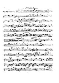 Drei Streichquartette Nr.7-9, Op.9: Quartett in f-Moll by Georges Onslow