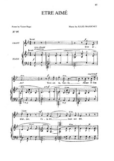 Être aimé: In B-Dur by Jules Massenet