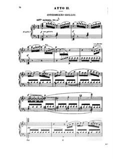 Grisélidis: Akt II, für Solisten, Chor und Klavier by Jules Massenet