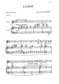 La nuit: In Es-Dur by Jules Massenet