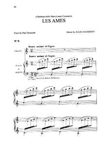 Les âmes: In C-Dur by Jules Massenet