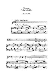 Petite Mireille: in D-Dur by Jules Massenet
