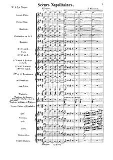 Scènes napolitaines. Suite No.5: Scènes napolitaines. Suite No.5 by Jules Massenet