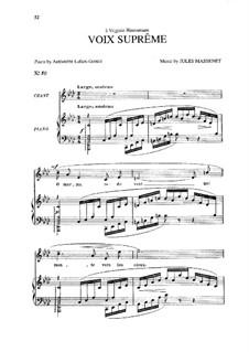 Voix suprême: Voix suprême by Jules Massenet