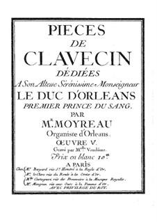 Stücke für Cembalo V: Stücke für Cembalo V by Christophe Moyreau