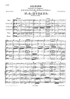 Sinfonie Nr.51 in D-Dur, K.121: Allegro by Wolfgang Amadeus Mozart