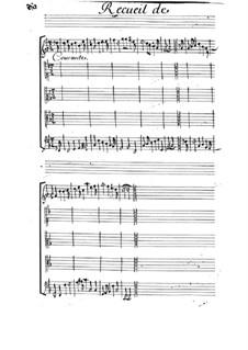 Courante für Streicher: Courante für Streicher by Michel Mazuel
