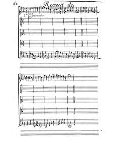 Courante Nr.3 für Streicher: Courante Nr.3 für Streicher by Michel Mazuel