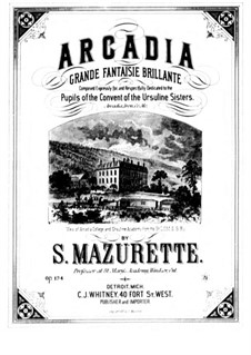 Arcadia, Op.134: Arcadia by Salomon Mazurette