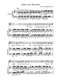 Adieux du matelot: Adieux du matelot by Franz Schubert