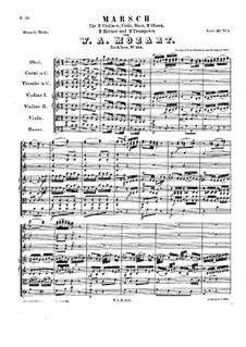 Marsch in C-Dur, K.214: Marsch in C-Dur by Wolfgang Amadeus Mozart