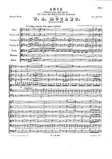 Clarice cara mia sposa, K.256: Clarice cara mia sposa by Wolfgang Amadeus Mozart