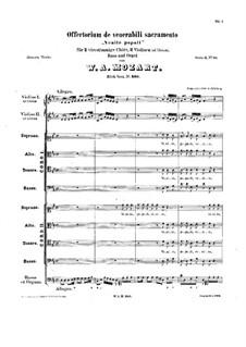 Venite Populi. Offertorium, K.260: Venite Populi. Offertorium by Wolfgang Amadeus Mozart