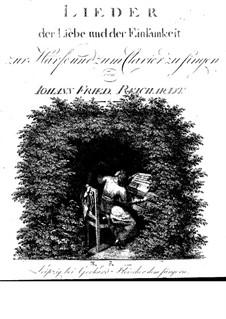 Lieder der Liebe und der Einsamkeit: Buch I by Johann Friedrich Reichardt