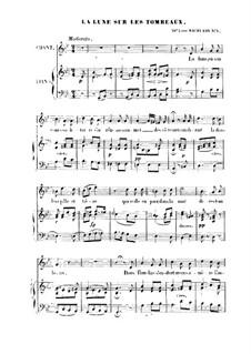 La lune sur Les tombeaux: La lune sur Les tombeaux by Franz Schubert