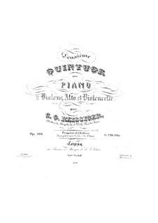 Klavierquintett in G-Dur, Op.191: Klavierquintett in G-Dur by Carl Gottlieb Reissiger