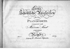 Zwölf schottische Angloises, Op.1: Zwölf schottische Angloises by Johann Christian Heinrich Remdé