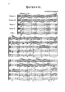 Streichquintett in a-Moll, Op.82: Vollpartitur by Josef Gabriel Rheinberger