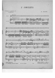 Violinkonzert Nr.1 in d-Moll, Op.3: Für Violine und Klavier by Pierre Rode