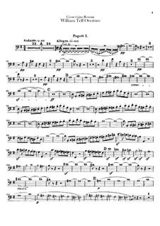 Ouvertüre: Fagottstimmen by Gioacchino Rossini