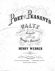 Poet and Peasant's: Poet and Peasant's by Charles Balmer