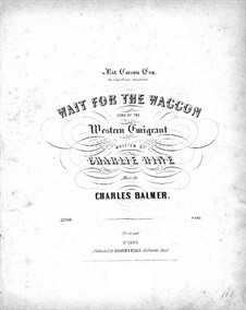 Wait for the Waggon: Wait for the Waggon by Charles Balmer