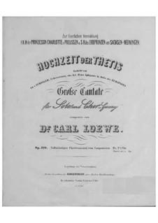 Die Hochzeit der Thetis, Op.120: Die Hochzeit der Thetis by Carl Loewe