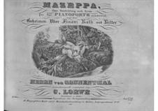 Mazeppa. Ballade ohne Worte, Op.27: Mazeppa. Ballade ohne Worte by Carl Loewe