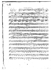 Ouvertüre zu 'Le jeune Henri': Violinstimme II by Étienne Méhul