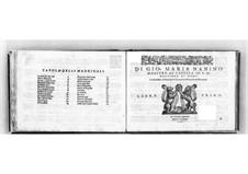 Madrigale für fünf Stimmen: Buch I. Singstimme by Giovanni Maria Nanino