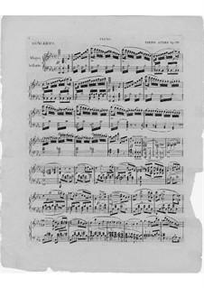 Konzert für Harfe und Orchester, Op.98: Teile I-II. Version für Harfe und Klavier – Klavierstimme by Elias Parish-Alvars