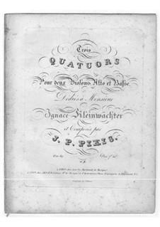 Streichquartett Nr.3 in G-Dur, Op.69: Streichquartett Nr.3 in G-Dur by Johann Peter Pixis