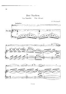 Der Nachen: Für Cello und Klavier by Alexander Warlamow