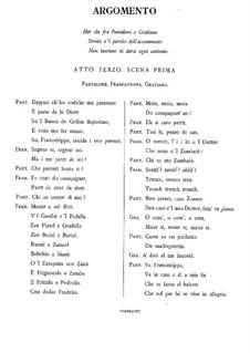 L'amfiparnaso: Act III – vocal part by Orazio Vecchi