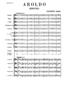 Aroldo: Ouvertüre by Giuseppe Verdi