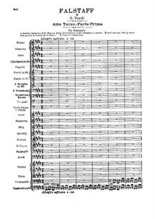 Falstaff: Akt III by Giuseppe Verdi
