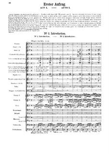 Fragmente: Akt I by Richard Wagner