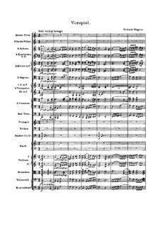 Fragmente: Vorspiel und Akt I by Richard Wagner