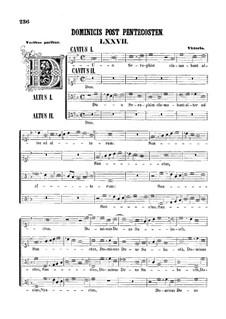 Zwei Motetten 'Duo Seraphim' und 'Tres sunt': Zwei Motetten 'Duo Seraphim' und 'Tres sunt' by Tomás Luis de Victoria