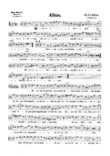 Messe : Altstimme by Tomás Luis de Victoria