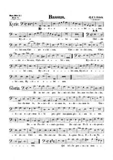 Messe : Bassstimme by Tomás Luis de Victoria