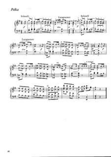 Polka in G-Dur, WWV 84: Polka in G-Dur by Richard Wagner