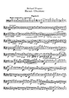 Rienzi, der Letzte der Tribunen, WWV 49: Ouvertüre – Fagotten- und Serpentstimmen by Richard Wagner