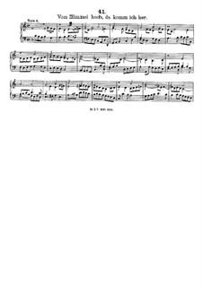 Vom Himmel hoch, da komm ich her, LV 51: Vom Himmel hoch, da komm ich her by Friedrich Wilhelm Zachow