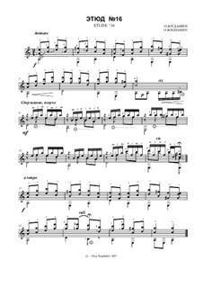 Etude No.16: Etude No.16 by Oleg Bogdaschin