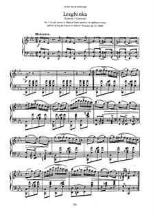 Sieben Nationaltänze, Op.82: Nr.1 Lesginka by Anton Rubinstein
